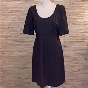 J. Crew  grey wool fully lined dress size 8 nwt!